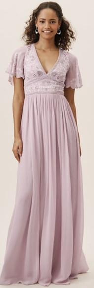 BHLDN Dresses & Skirts - NWT BHLDN Fresna Dress - Lilac